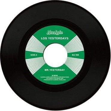 "Los Yesterdays - Mr. Yesterday/So Insincere (7"") Now Again"