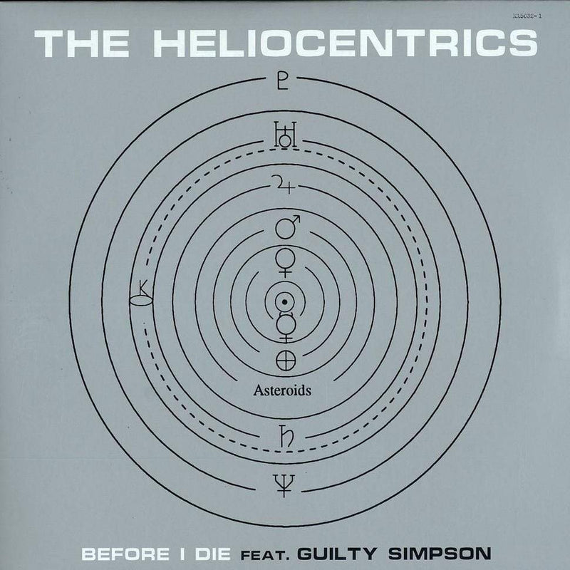 "The Heliocentrics - Before I Die (f/Guilty Simpson) (12"") Now Again"