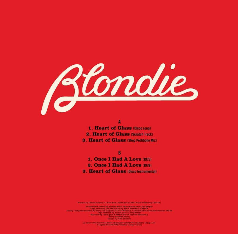 "Blondie - Heart of Glass (12"") Numero Group"