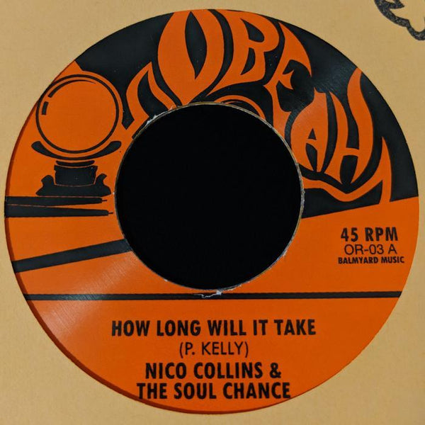 Nico Collins & The Soul Chance - How Long Will It Take (Digital) Obeah Records