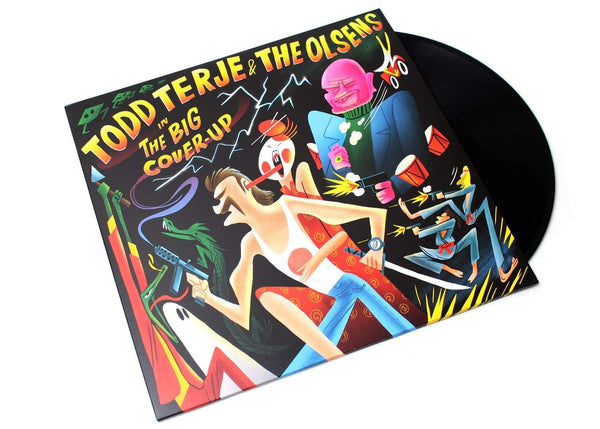 Todd Terje & The Olsens - The Big Cover-Up (2xLP) Olsen