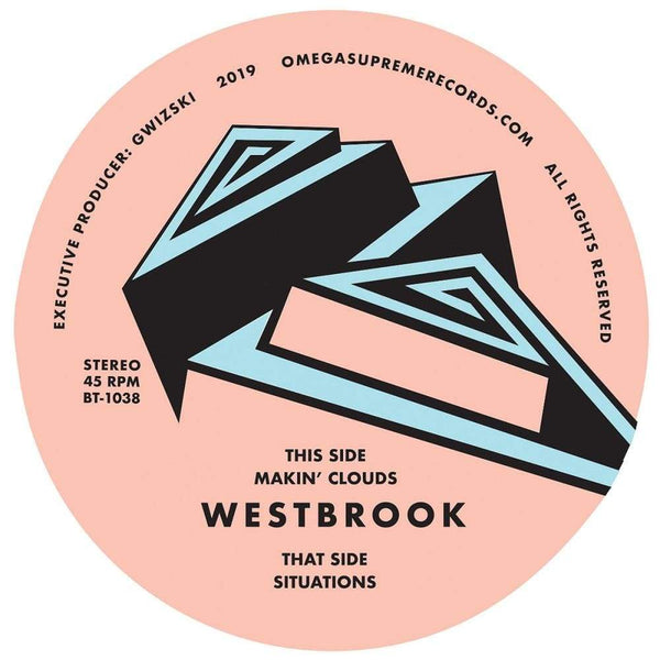"Westbrook - Makin' Clouds b/w Situations (7"") Omega Supreme"