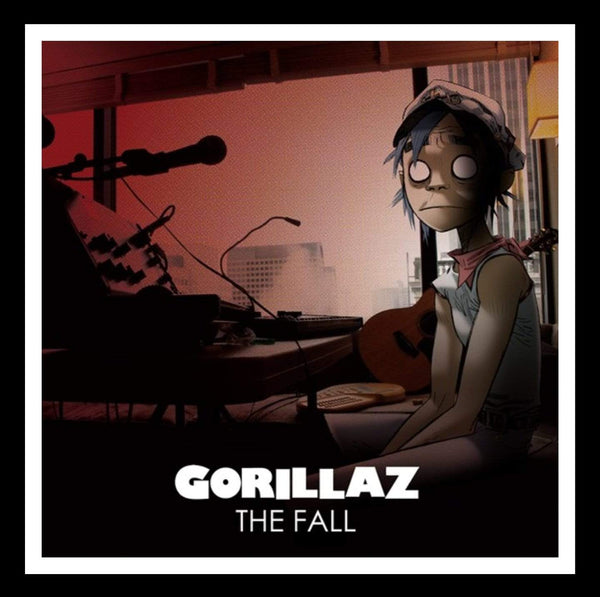 Gorillaz - The Fall (LP - Green Vinyl) Parlophone