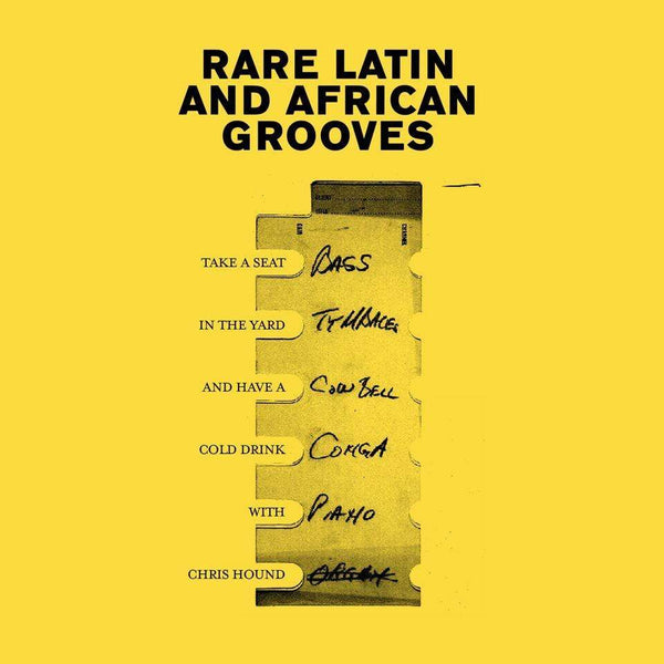 Chris Hound - Rare Latin And African Grooves (Cassette) Paxico Records