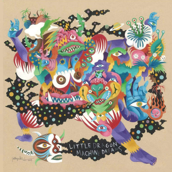 Little Dragon - Machine Dreams (CD) Peacefrog Records