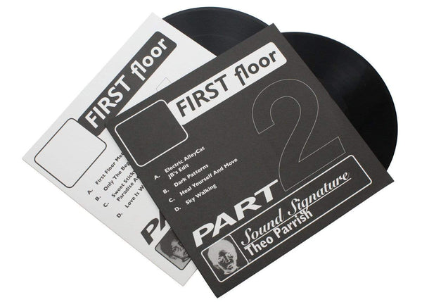 Theo Parrish - First Floor, Parts 1 & 2 (2xEP - Bundle) Peacefrog Records