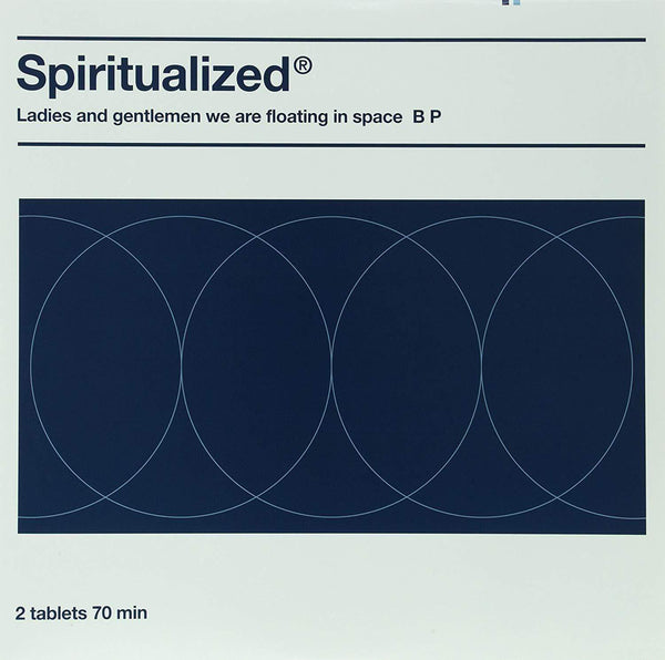 Spiritualized - Ladies And Gentlemen We Are Floating In Space (2xLP - Clear Blue & White Vinyl) Plain Recordings