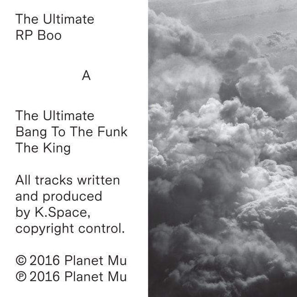 "RP Boo - The Ultimate (EP - 12"" Vinyl) Planet Mu"