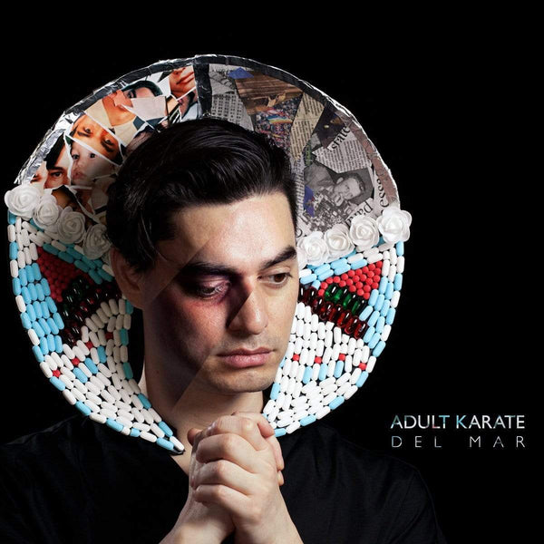 Adult Karate - Del Mar (LP - Clear Vinyl) Plug Research