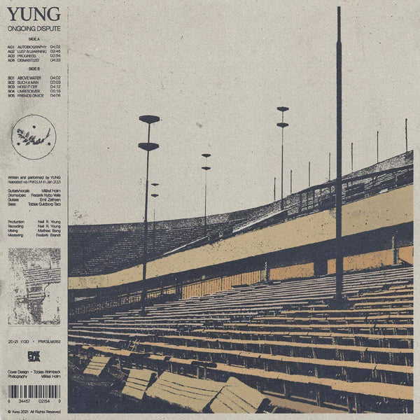 Yung - Ongoing Dispute (LP - INDIE EXCLUSIVE CLEAR VINYL) PNKSLM Recordings
