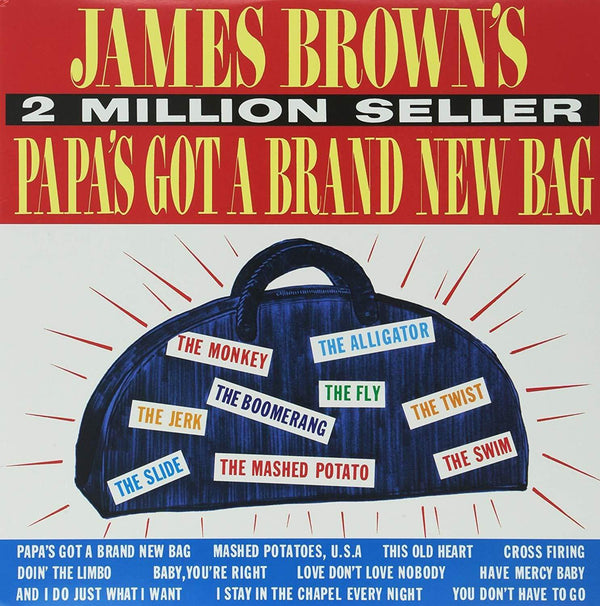 James Brown - Papa's Got a Brand New Bag (LP) Polydor