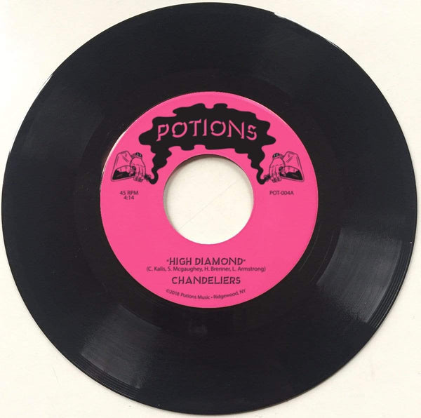 "Chandeliers - High Diamond b/w Snake Bomb (7"") Potions Music NYC"