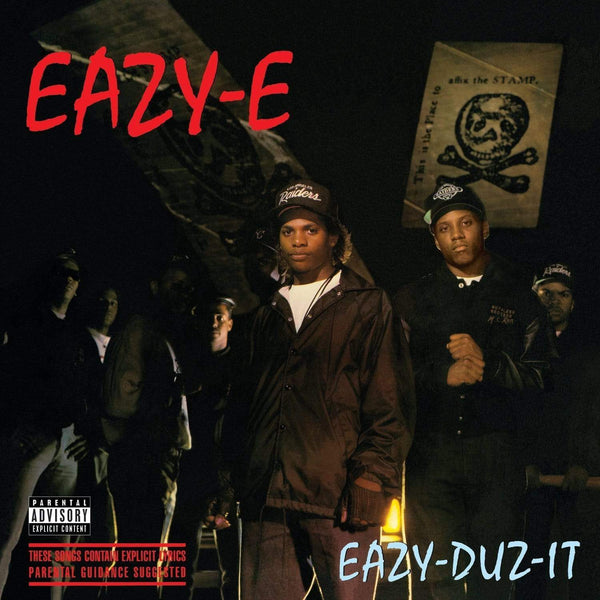 Eazy-E - Eazy Duz It (Cassette - Translucent Black Shell + 3D Lenticular Cover) Priority