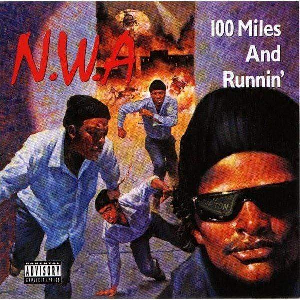 N.W.A. - 100 Miles And Runnin' (EP - Deluxe Reissue + 3D Lenticular Cover) Priority