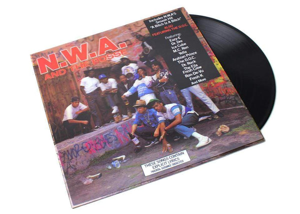 N.W.A. - N.W.A. And The Posse (2xLP - Deluxe Reissue + 3D Lenticular Cover) Priority