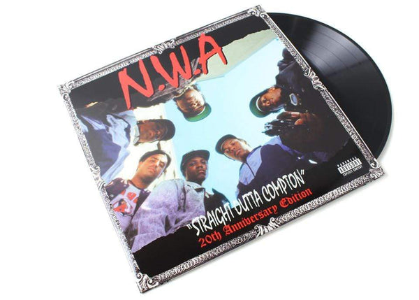 N.W.A. - Straight Outta Compton: 20th Anniversary Edition (2xLP - 20th Anniversary Edition Reissue) Priority
