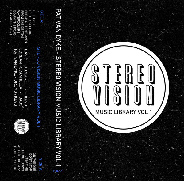 Pat Van Dyke - Stereo Vision Music Library Vol. 1 (Cassette) PVD Music
