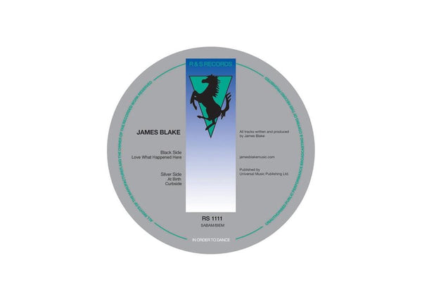 "James Blake - Love What Happened Here (12"") R&S Records"