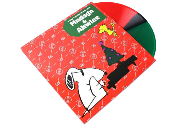 Mndsgn & Ahwlee - A Rap Vacation X-Mas (LP - Red/Green Vinyl) Rap Vacation