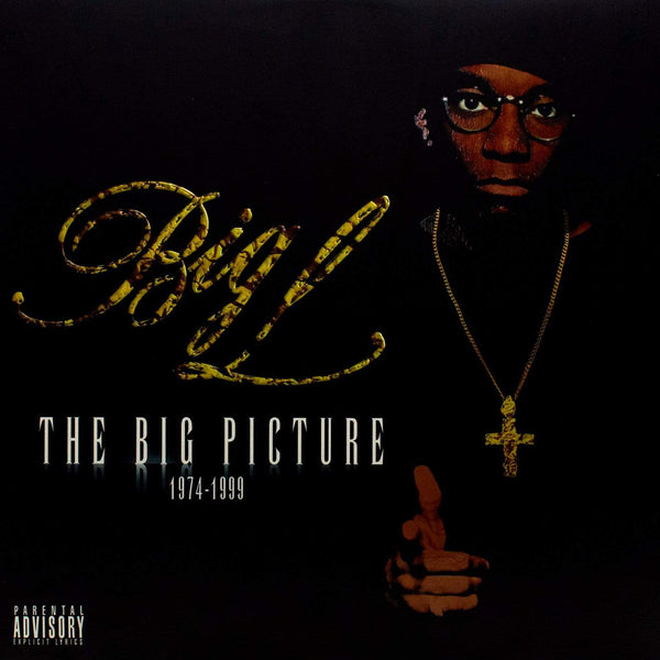 Big L - The Big Picture (2xLP - Fat Beats Exclusive Clear/Black Smoke Vinyl) RBC Records
