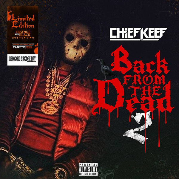 Chief Keef - Back From The Dead 2 (2xLP - Black/Orange Vinyl) RBC Records