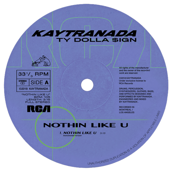 "Kaytranada - Nothin Like U/Chances (12"") RCA"