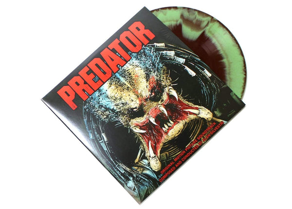 "Alan Silvestri - Predator: Original Soundtrack (2xLP - ""Camo"" Vinyl) Real Gone Music"