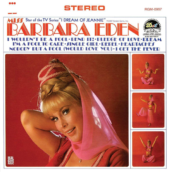 Barbara Eden - Miss Barbara Eden (LP - Limited Edition Pink Vinyl) Real Gone Music