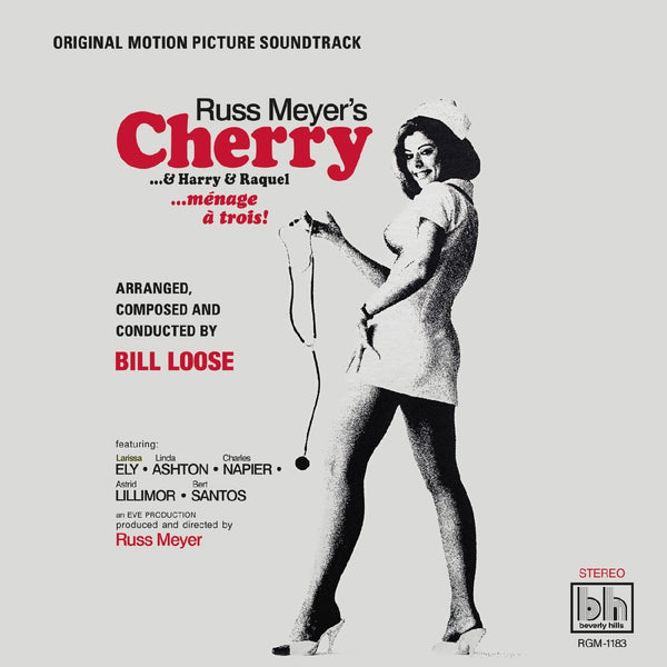Bill Loose - Russ Meyer's Cherry… & Harry & Raquel [Original Motion Picture Soundtrack] (LP - Limited Cherry Red Vinyl) Real Gone Music