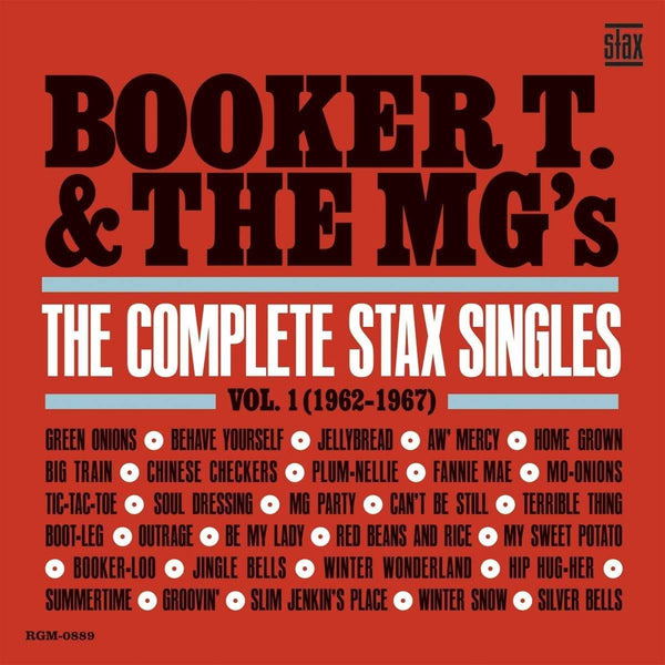 Booker T. & The MG's - The Complete Stax Singles Vol. 1: 1962-1967 (2xLP - Limited Blue Vinyl) Real Gone Music