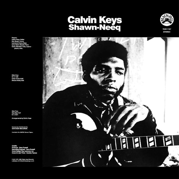 Calvin Keys - Shawn-Neeq [Remastered] (LP) Real Gone Music
