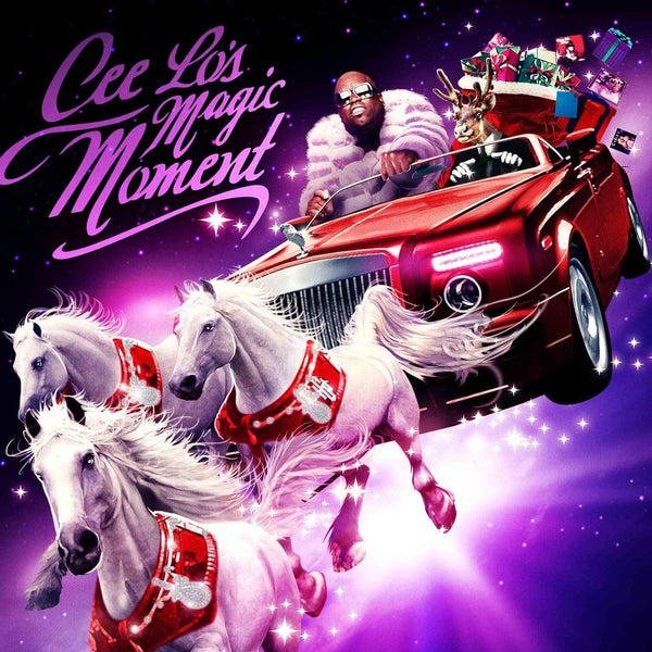 Cee Lo Green - Cee Lo's Magic Moment (LP - Christmas Green Vinyl) Real Gone Music