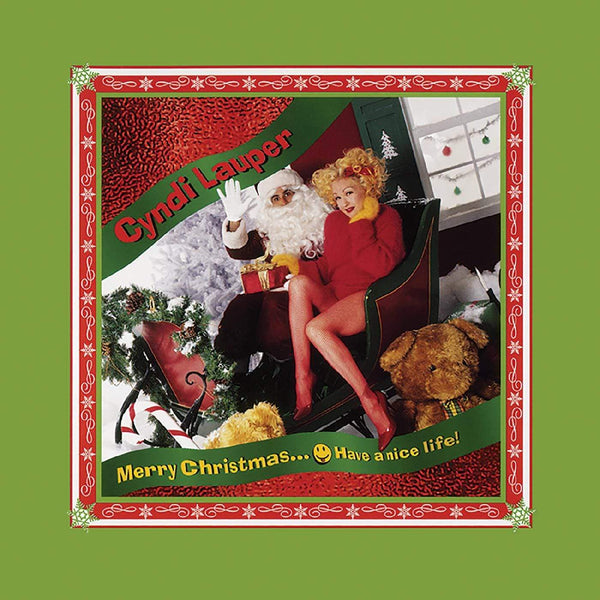 Cyndi Lauper - Merry Christmas…Have a Nice Life! (LP - Limited Snow White Vinyl Edition) Real Gone Music