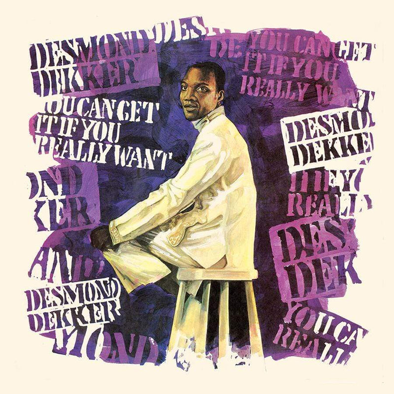 Desmond Dekker - You Can Get It If You Really Want (LP - Black & Blue Marble Vinyl) Real Gone Music