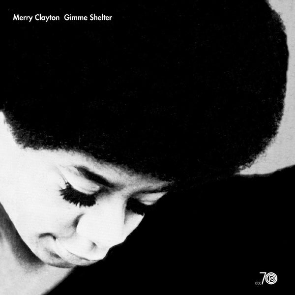 "Merry Clayton - Gimme Shelter (LP - Limited Black & White ""Gray Eye"" Vinyl Edition) Real Gone Music"