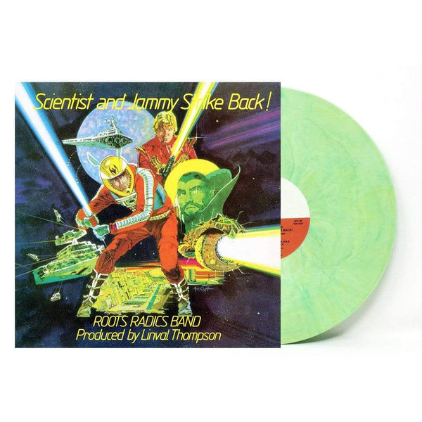 "Scientist & Prince Jammy - Strike Back! (LP - ""Lightsaber"" Colored Vinyl) Real Gone Music"