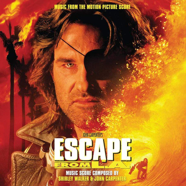 Shirley Walker & John Carpenter - Escape from LA: Original Soundtrack (2xLP - Clear/Green Splatter Vinyl) Real Gone Music