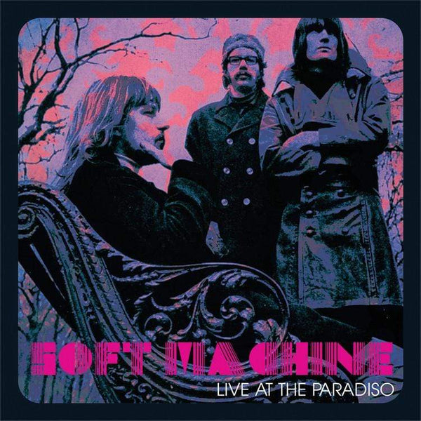 "Soft Machine -  Live at the Paradiso (LP - Limited ""Soft"" Purple Vinyl) Real Gone Music"