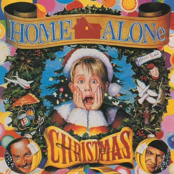 V/A - Home Alone Christmas (LP - Limited Santa Red Vinyl Edition) Real Gone Music