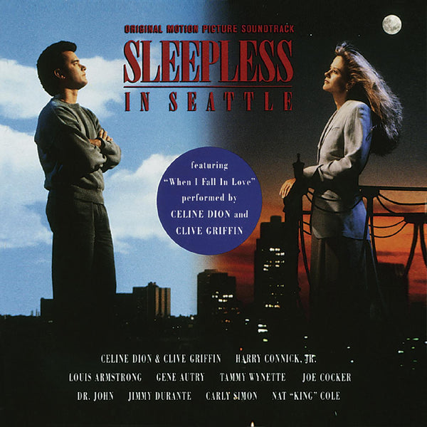 "V/A - SLEEPLESS IN SEATTLE: Original Motion Picture Soundtrack (LP - Limited ""Red Valentine"" Vinyl) Real Gone Music"