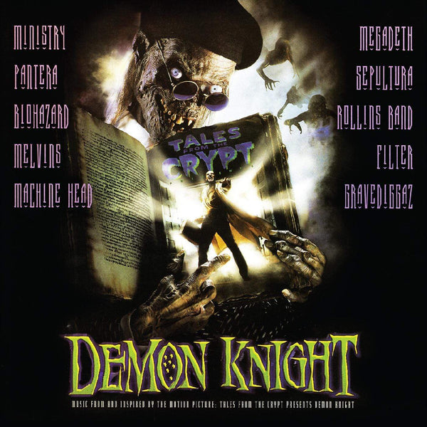 V/A - Tales From the Crypt Presents: Demon Knight, Original Soundtrack (LP - Limited Green Demon Eye Vinyl Edition) Real Gone Music