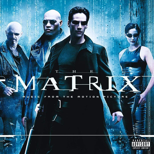"V/A -  The Matrix: Music from the Motion Picture (2xLP - Red/Black ""Squiddy"" Vinyl) Real Gone Music"