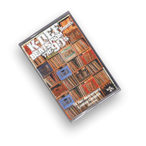 K-Def - Beats From Da 90s, Vol. 1: 10 Year Anniversary (Cassette) Real Live Music, LLC