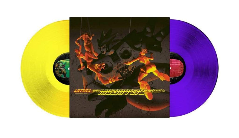 Latyrx - The Muzapper Mixes (2xLP - Purple/Yellow Vinyl) Real People