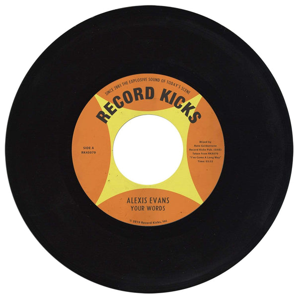 "Alexis Evans - I Made A Deal With Myself b/w Your Words (7"") Record Kicks"