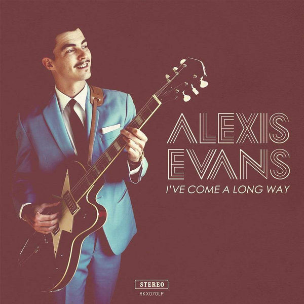 Alexis Evans - I've Come A Long Way (CD) Record Kicks