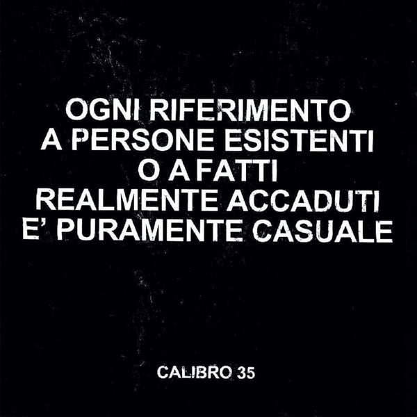 Calibro 35 - Any Resemblance To Real Persons Or Actual Facts Is Purely Coincidental (LP) Record Kicks