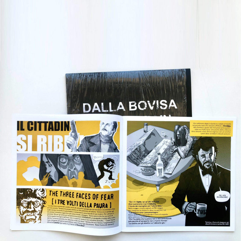 Calibro 35 - Dalla Bovisa a Brooklyn (EP + Comic Book) Record Kicks