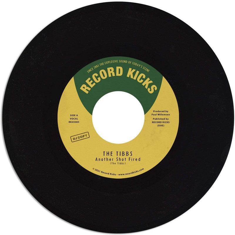 "The Tibbs - Another Shot Fired / The Main Course (7"") Record Kicks"