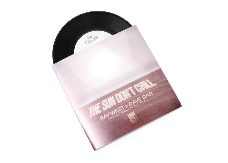 "Ray West & Dave Dar - The Sun Don't Chill (7"") Red Apples 45"